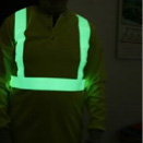 Allure Glow - Safety Fitting - Fire retardant glow in the dark fabric strip